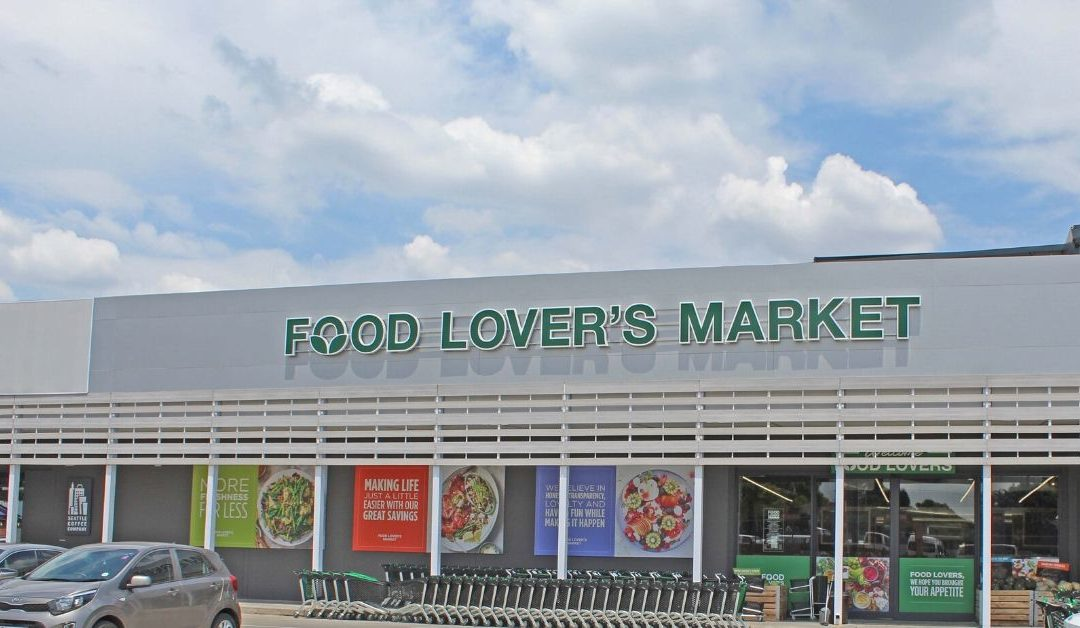 Entrance to Food Lovers Market