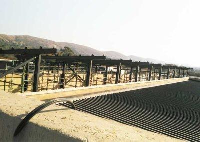 Steel Roof Fabrication