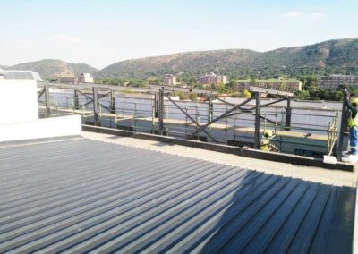 View of Steel Roof