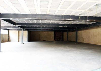 Underground car garage