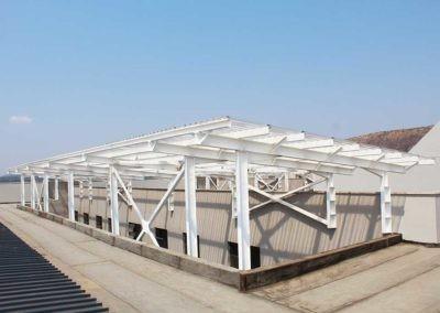 Steel Roof Installed