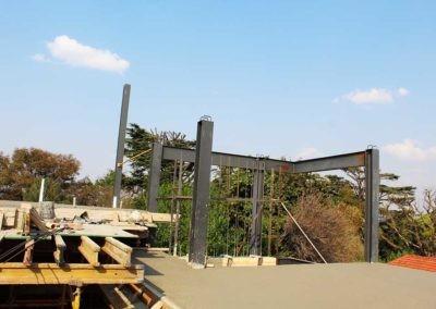 Structural steel columns
