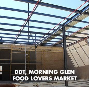 Fabstruct Structural Steel at DDT, Morning Glen food Lovers market